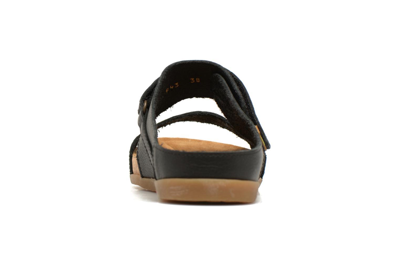 Sandales et nu-pieds El Naturalista Zumaia NF43 Noir vue droite