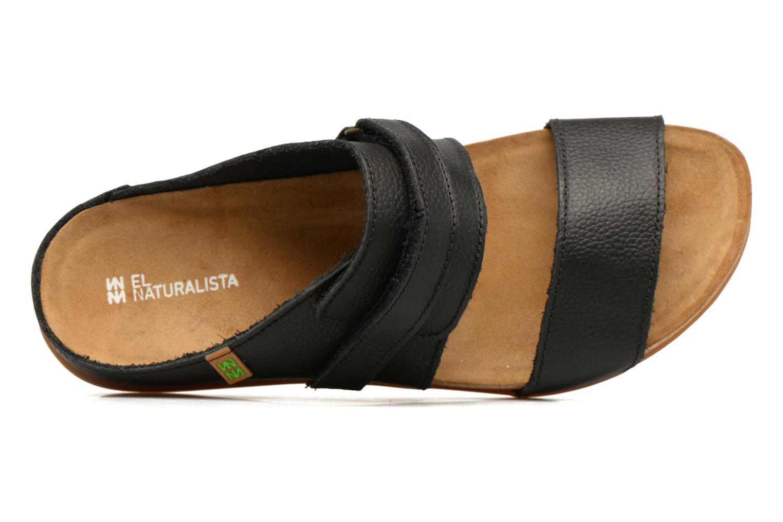 Sandales et nu-pieds El Naturalista Zumaia NF43 Noir vue gauche