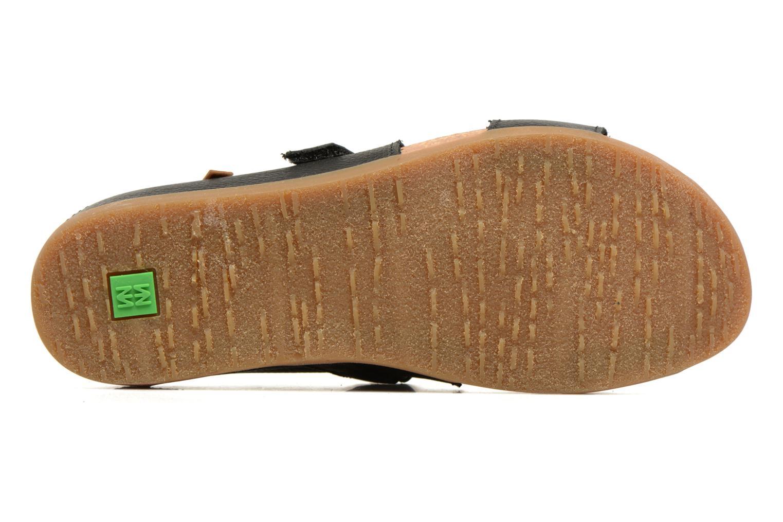 Sandales et nu-pieds El Naturalista Zumaia NF43 Noir vue haut