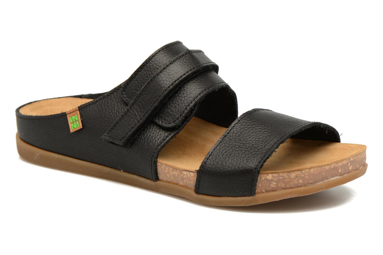 Sandales et nu-pieds El Naturalista Zumaia NF43 Noir vue détail/paire