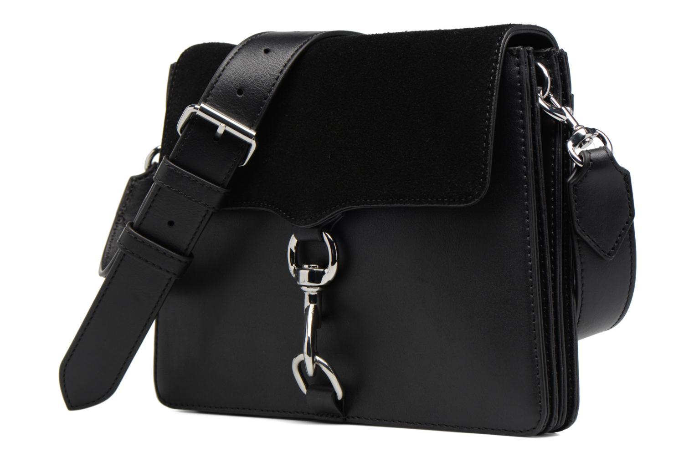 Borse Rebecca Minkoff Mab Shoulder Bag Nero modello indossato