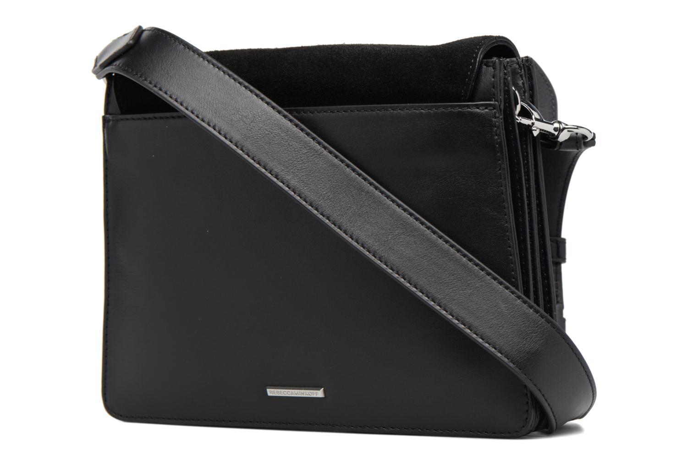 Borse Rebecca Minkoff Mab Shoulder Bag Nero immagine destra