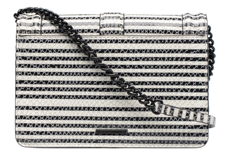Striped Snake Small Love Cross 004 BLACK/WHITE