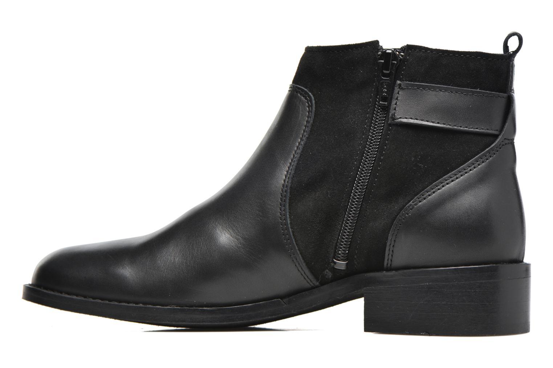 Bottines et boots Georgia Rose Cevora Noir vue face