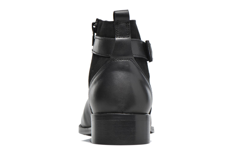 Bottines et boots Georgia Rose Cevora Noir vue droite