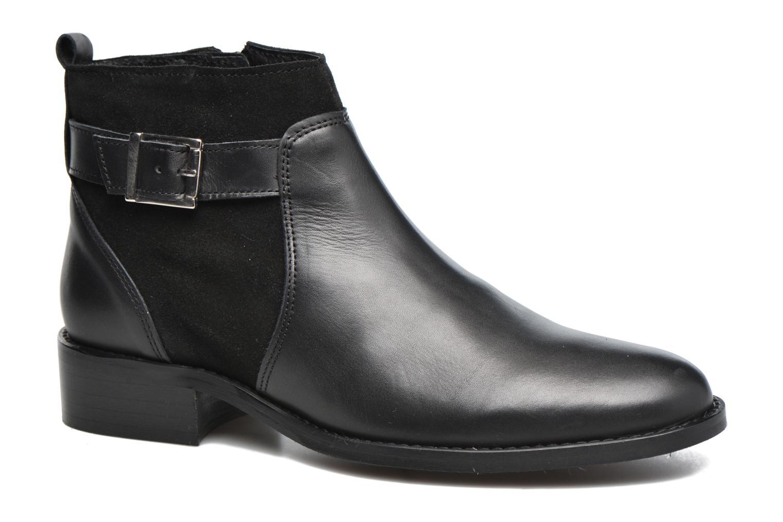 Bottines et boots Georgia Rose Cevora Noir vue détail/paire