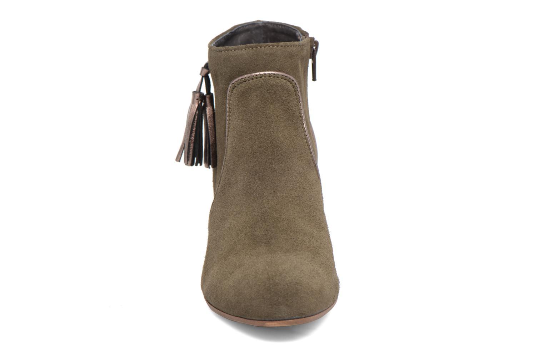 Bottines et boots Georgia Rose Cemode Vert vue portées chaussures