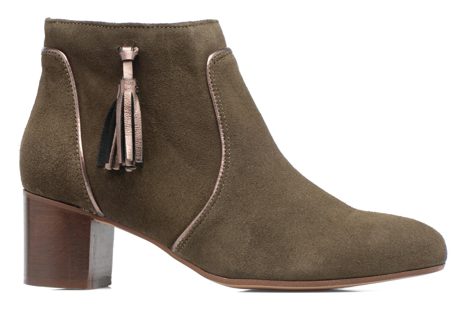 Ankle boots Georgia Rose Cemode Green back view