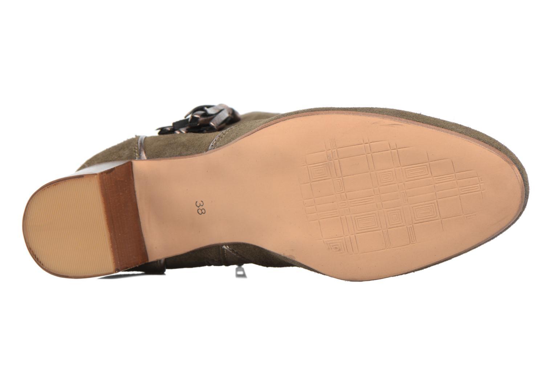 Bottines et boots Georgia Rose Cemode Vert vue haut
