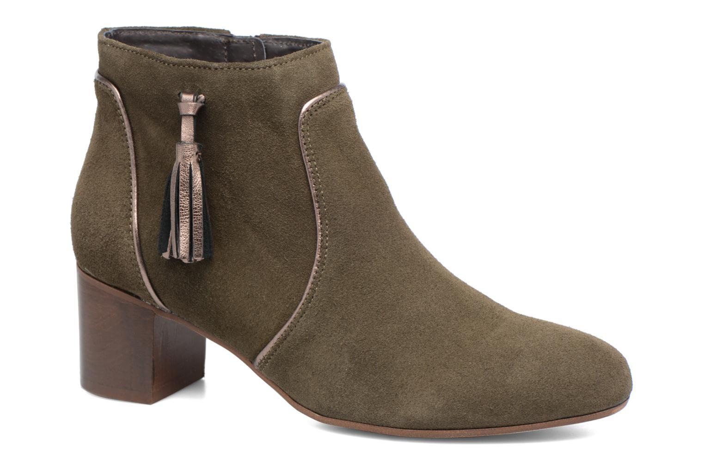 Bottines et boots Georgia Rose Cemode Vert vue détail/paire