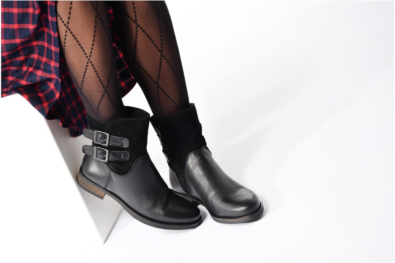 Bottines et boots Georgia Rose Cefoure Noir vue bas / vue portée sac