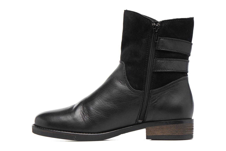 Bottines et boots Georgia Rose Cefoure Noir vue face