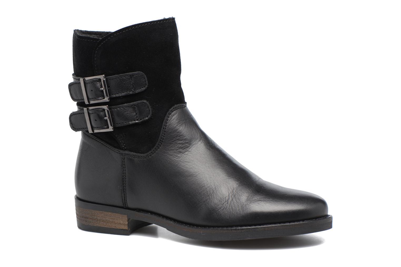 Bottines et boots Georgia Rose Cefoure Noir vue détail/paire