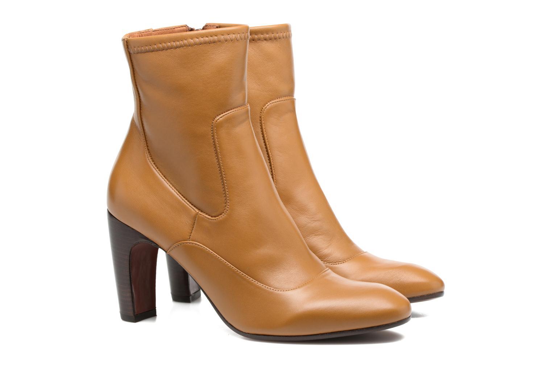Bottines et boots Chie Mihara Xian-C Marron vue 3/4