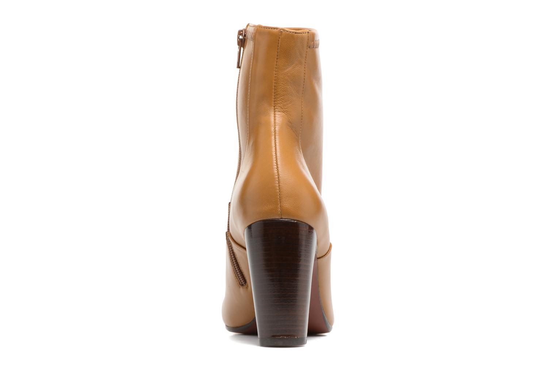 Bottines et boots Chie Mihara Xian-C Marron vue droite