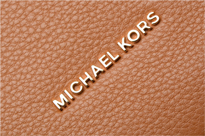 Sacs à main Michael Michael Kors Lupita LG Hobo Marron vue gauche