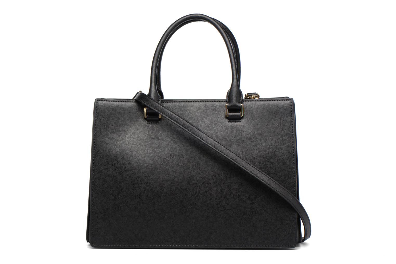 Sutton LG Gusset Satchel 001 black