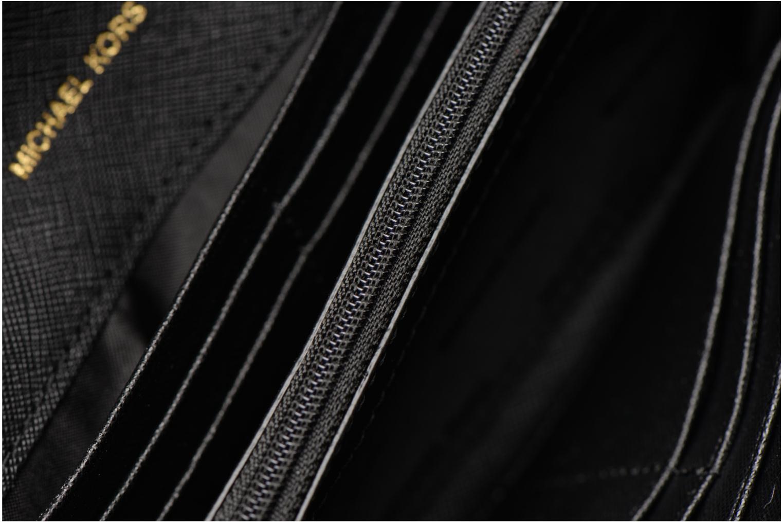 Bolsos de mano Michael Michael Kors Jet Set Wallet on a chain Negro vistra trasera