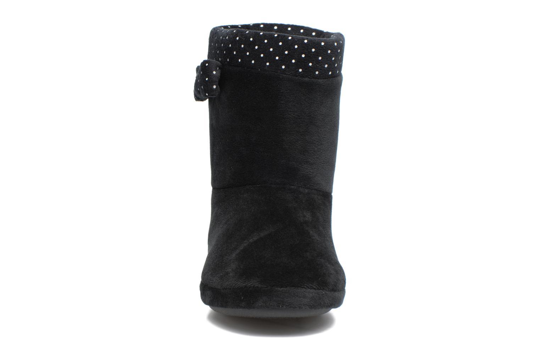 Chaussons Dim D Ribecry Noir vue portées chaussures