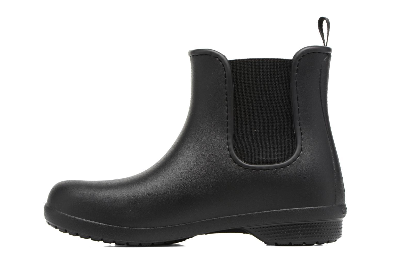 Bottines et boots Crocs Crocs Freesail Chelsea Boot W Noir vue face