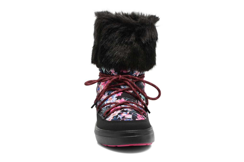 Bottes Crocs LodgePoint Graphic Lace Boot W Noir vue portées chaussures