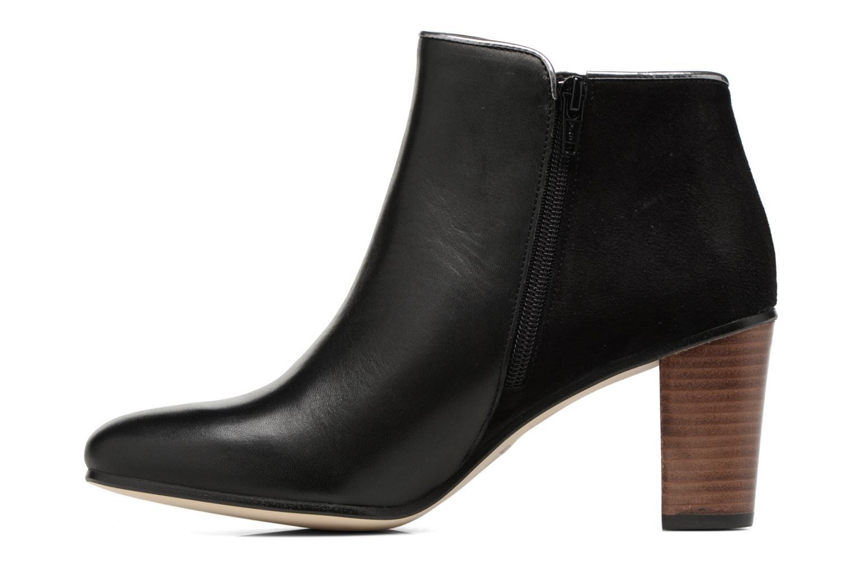 Bottines et boots Georgia Rose EOLIA Noir vue face