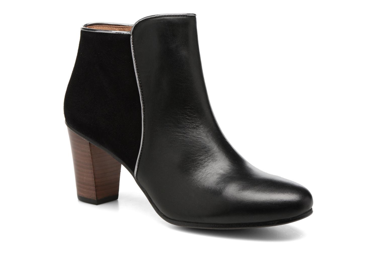 Bottines et boots Georgia Rose EOLIA Noir vue détail/paire