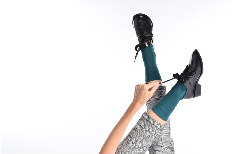 Chaussures à lacets Georgia Rose EVANA Noir vue bas / vue portée sac