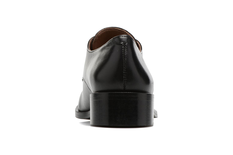 Chaussures à lacets Georgia Rose EVANA Noir vue droite