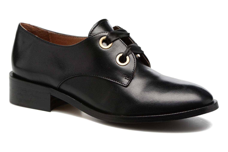 Chaussures à lacets Georgia Rose EVANA Noir vue détail/paire