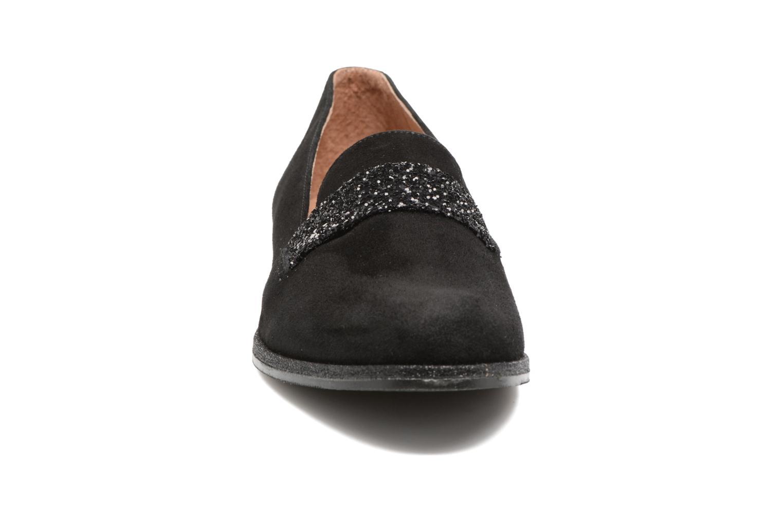 Mocassins Georgia Rose ESTELLA Noir vue portées chaussures
