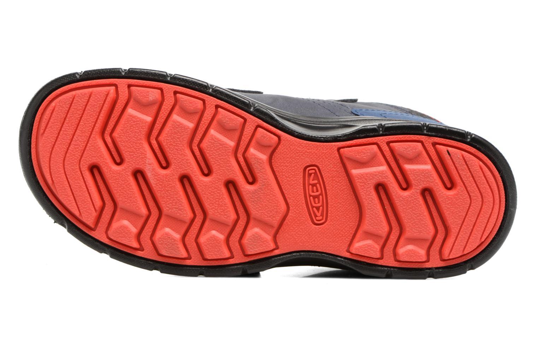 Chaussures de sport Keen Hikeport Mid Strap Bleu vue haut