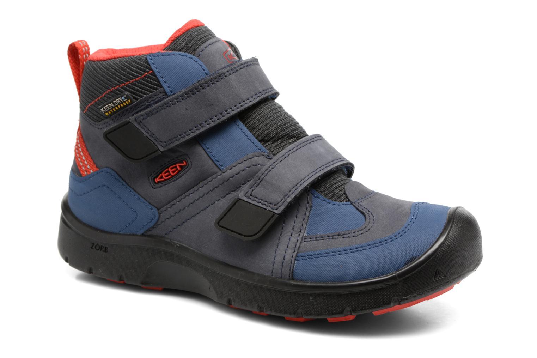 Chaussures de sport Keen Hikeport Mid Strap Bleu vue détail/paire