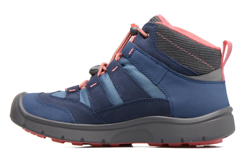 Chaussures de sport Keen Hikeport Mid youth Bleu vue face