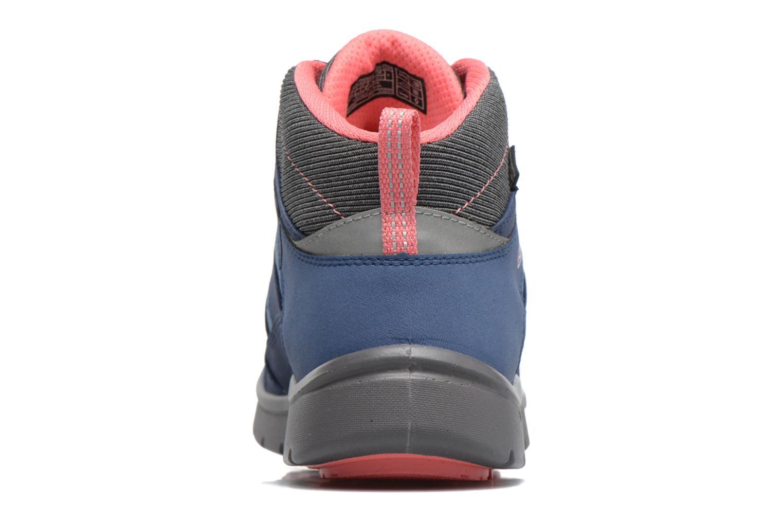 Chaussures de sport Keen Hikeport Mid youth Bleu vue droite