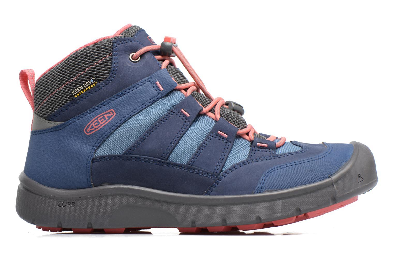 Chaussures de sport Keen Hikeport Mid youth Bleu vue derrière