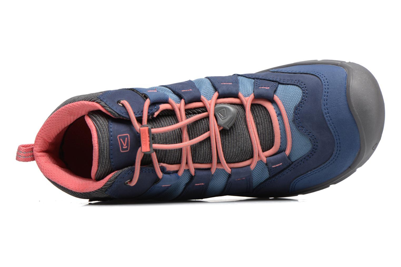 Chaussures de sport Keen Hikeport Mid youth Bleu vue gauche