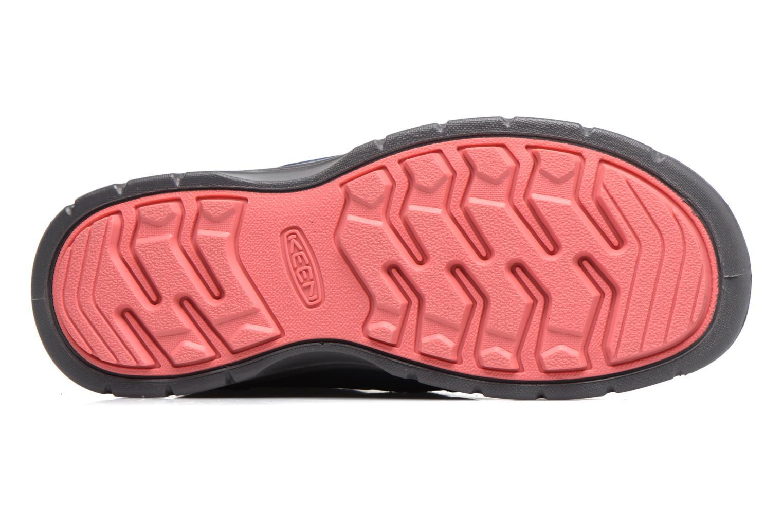Chaussures de sport Keen Hikeport Mid youth Bleu vue haut