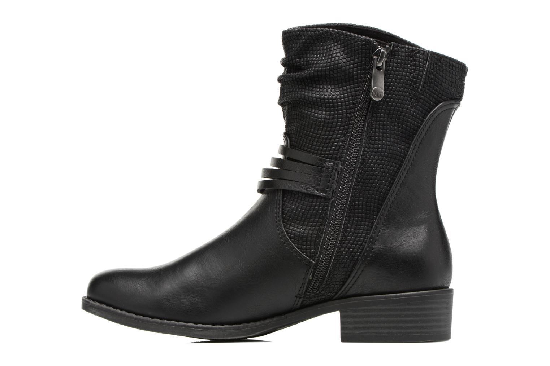 Bottines et boots Marco Tozzi Pala Noir vue face