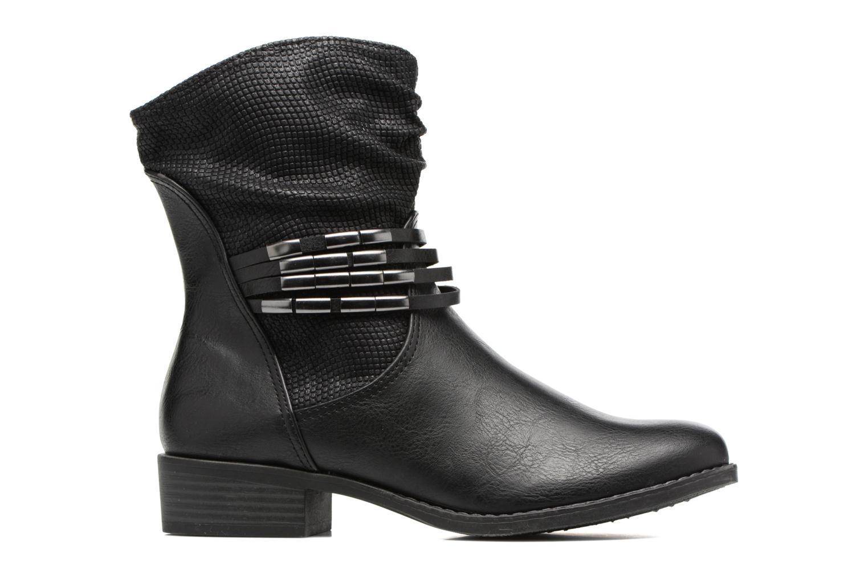 Bottines et boots Marco Tozzi Pala Noir vue derrière