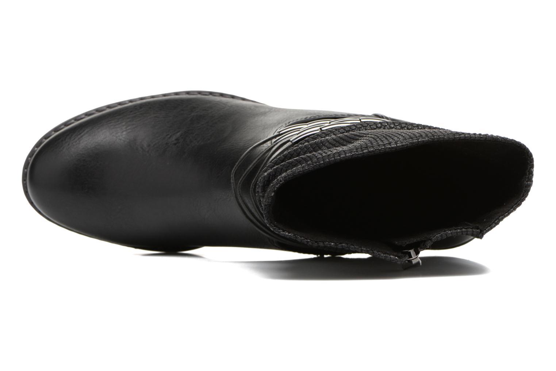 Bottines et boots Marco Tozzi Pala Noir vue gauche