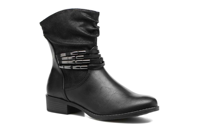 Bottines et boots Marco Tozzi Pala Noir vue détail/paire