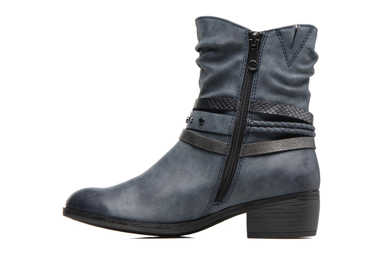 Bottines et boots Marco Tozzi Guppy 2 Bleu vue face