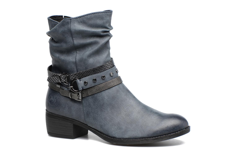 Bottines et boots Marco Tozzi Guppy 2 Bleu vue détail/paire