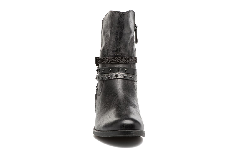 Bottines et boots Marco Tozzi Mokka Noir vue portées chaussures