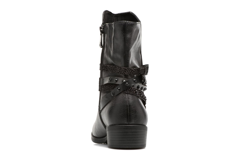Bottines et boots Marco Tozzi Mokka Noir vue droite