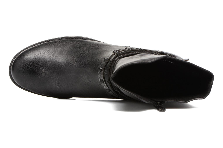 Bottines et boots Marco Tozzi Mokka Noir vue gauche