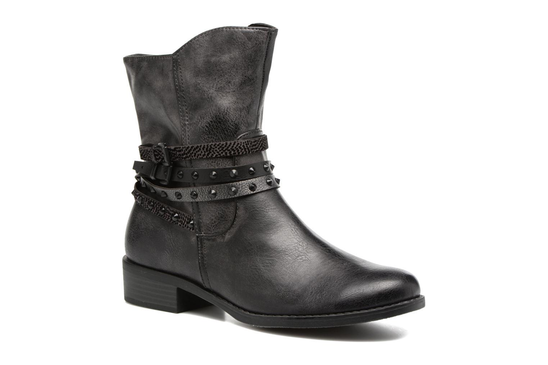 Bottines et boots Marco Tozzi Mokka Noir vue détail/paire