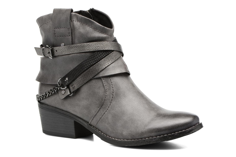 Grandes descuentos últimos zapatos Marco Tozzi Rina 2 (Gris) - Botines  Descuento