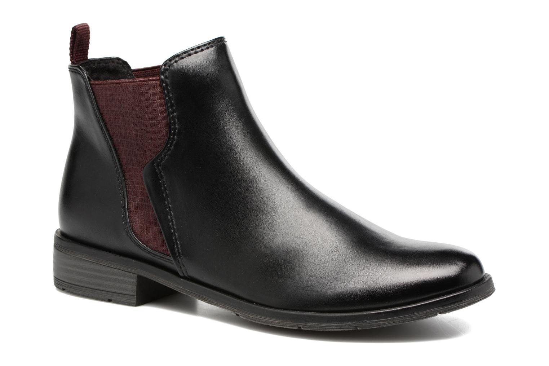 Bottines et boots Marco Tozzi Bapia Noir vue détail/paire